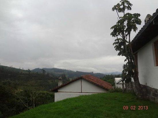 Casa Mojanda:                   vista