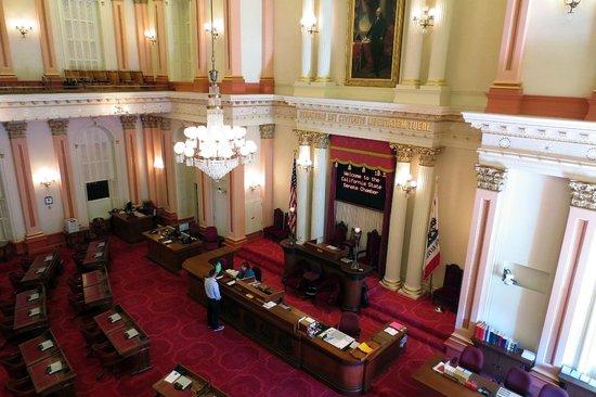 state senate chambers picture of sacramento california tripadvisor rh tripadvisor in