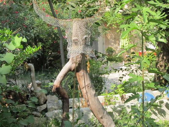 Moulin de la Croix: Déco jardin