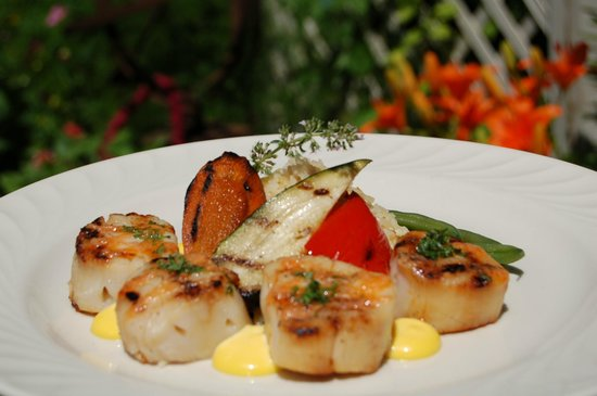 Arlington Inn: Sea Scallops