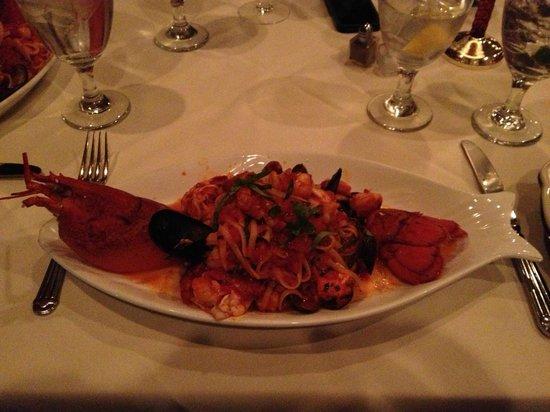 Tuscany Il Ristorante:                   Lobster Fra Diavolo