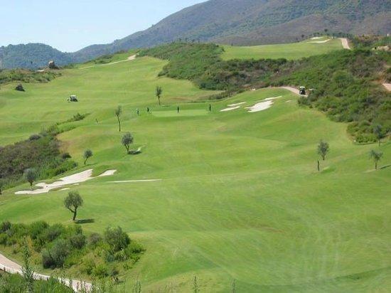 La Cala Resort:                   one of the 3 courses at La Cala
