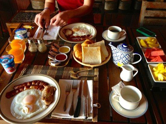 Le Prive Pattaya:                   petit dej                 