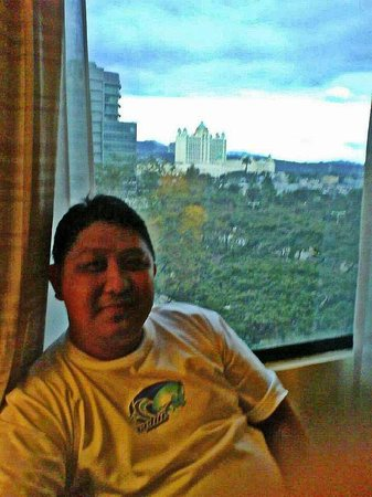 Cebu City Marriott Hotel: view from our room