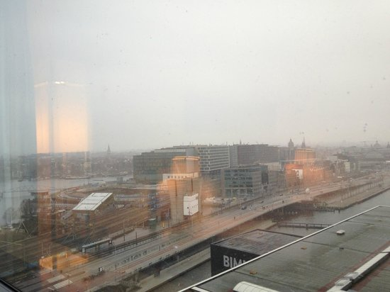 Movenpick Hotel Amsterdam City Center: Ausblick