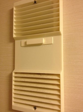 Hilton Orlando Buena Vista Palace Disney Springs : bathroom wall vent