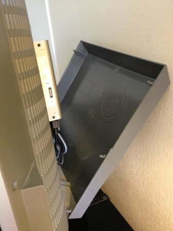 Buena Vista Palace: TV--back kept falling off....we never touched it....always used a remote