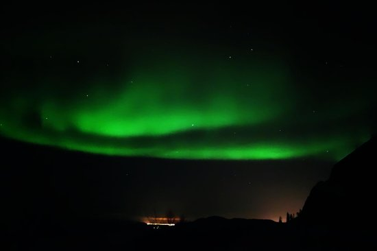 Kirkenes Snowhotel: Northern light tour!