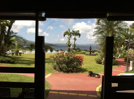 La Mansion Inn Arenal Hotel:                                     View From Dining Room ~ La Mansion