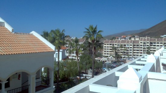 Hollywood Mirage:                   view from balcony