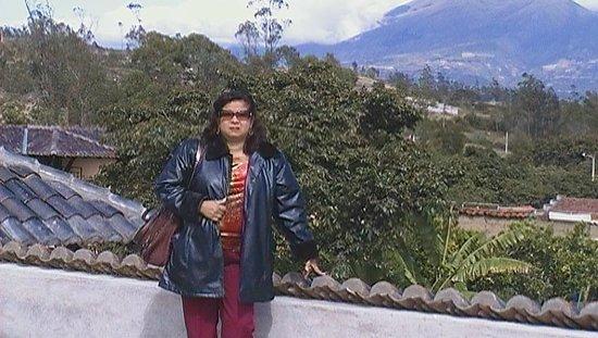 Hosteria Agustin Delgado :                   Foto tomada en la terraza de la Hostería de Agustín Delgado