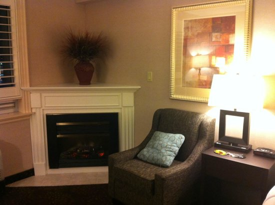 Holiday Inn Hotel & Suites St. Catharines Conference Centre: fireplace
