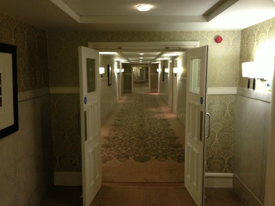 The Midland:                   Nice wide corridor