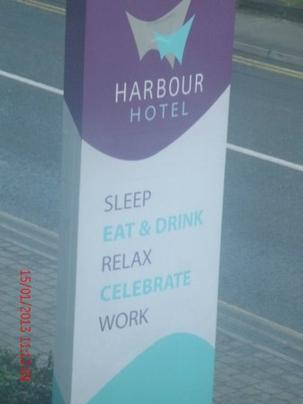 Harbour Hotel Galway:                   hotel
