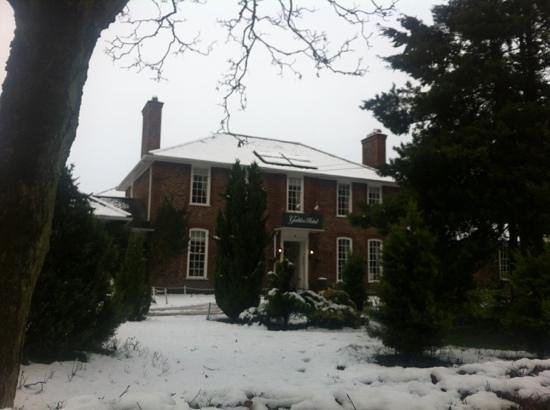 The Gables Hotel:                   In the snow