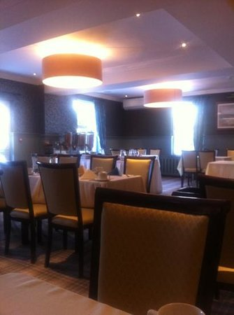 The Gables Hotel:                   Breakfast room