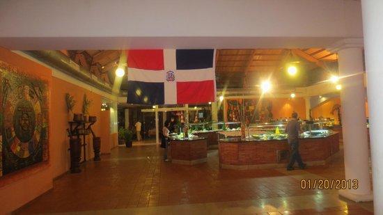Catalonia Bavaro Beach, Casino & Golf Resort:                   Buffet Principal