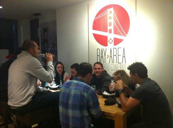 Bay Area Burrito Company:                   In good company ...