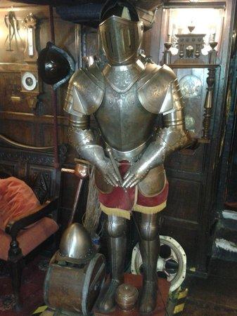 Bull i' th' Thorn:                                     Armour