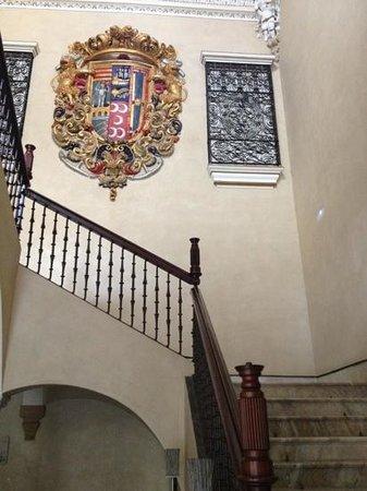 Hotel Palacio de Villapanes:                                                                         stairs