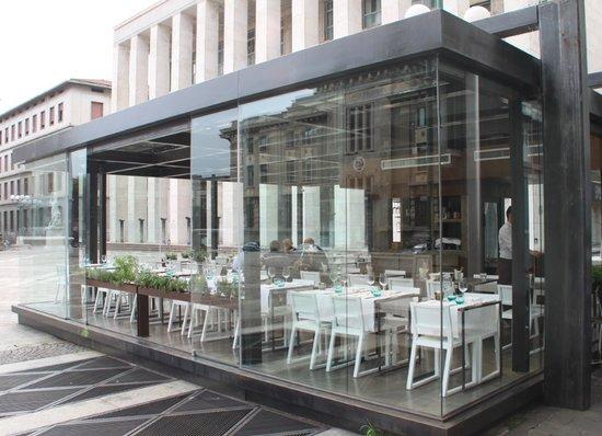 Bobino bar restaurant bergamo ristorante recensioni for L esterno del ristorante sinonimo