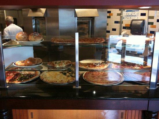 Fantasy Pizza and Salads:                   Display