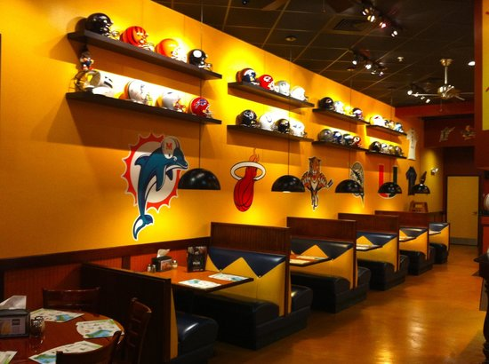 Fantasy Pizza and Salads:                   every helmet from NFL