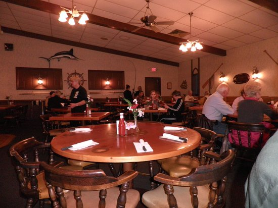 Artie & Tony's Steak House:                   Inside dining area