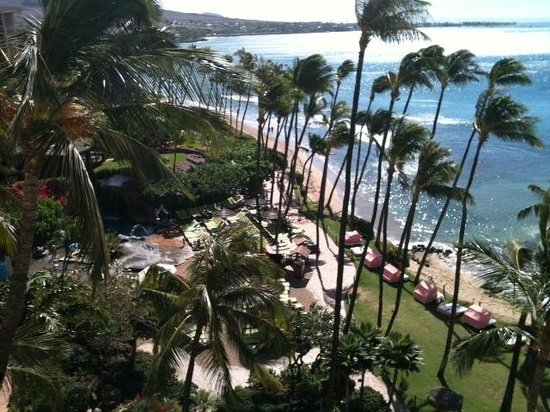 Hyatt Regency Maui Resort and Spa: View from our room...
