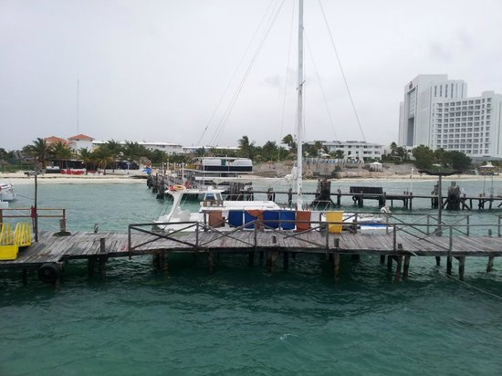 Dos Playas Hotel Cancun: From the dock