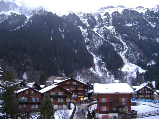 Hotel Bernerhof & Residence: view from room