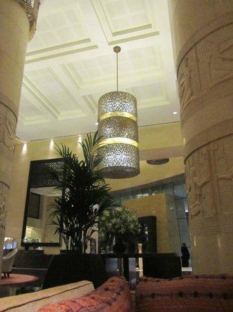 Raffles Dubai:                   lobby