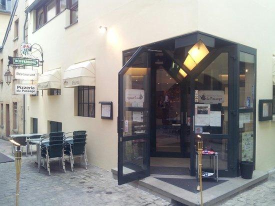 Echternach, Luxembourg: Restaurant Pizzeria du Passage