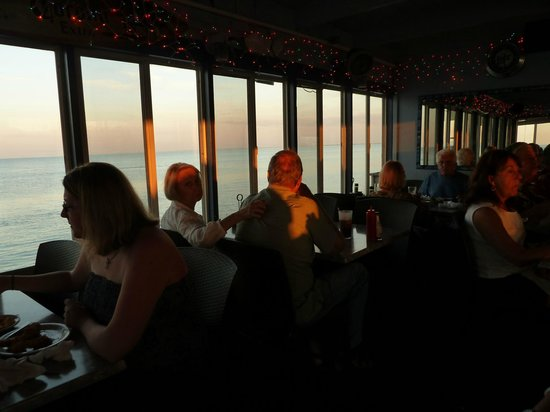 Rod & Reel Pier: Abendsonne im Rod & Reel