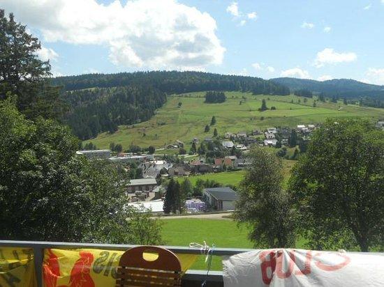 Gastehaus Bernau:                                     Vue du balcon