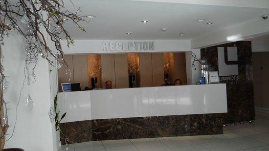 Livadhiotis City Hotel: Receptiion