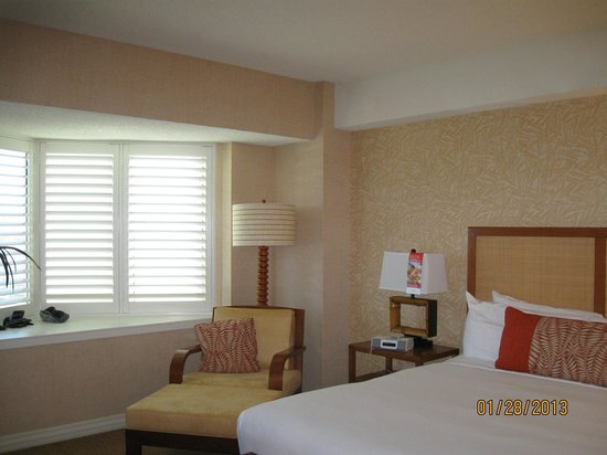 Tropicana Las Vegas - A DoubleTree by Hilton Hotel:                   Part of Bedroom