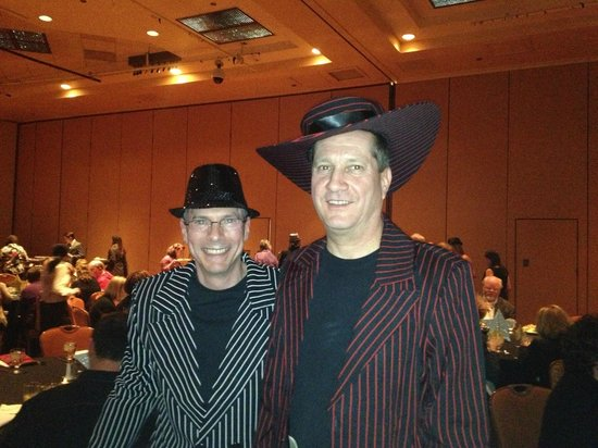 Tropicana Las Vegas - A DoubleTree by Hilton Hotel:                   Convention Dinner Function-FUN!