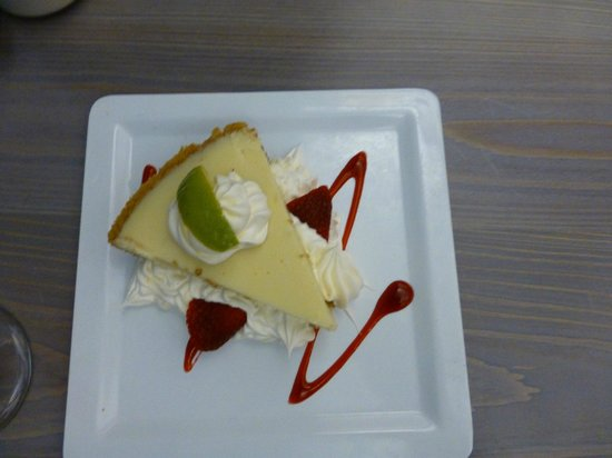Sandbar Restaurant: Key Lime Pie - leckeres Dessert