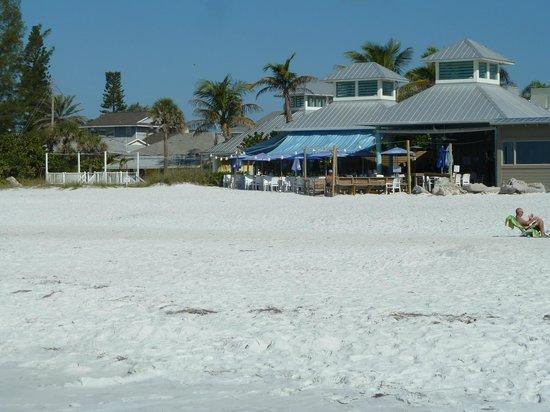 Sandbar Restaurant: Traumhafter Platz am Strand für's Mittagessen