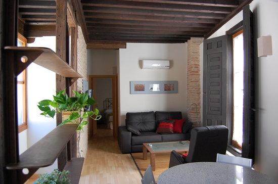 Casa de los Mozarabes: Salón / Living
