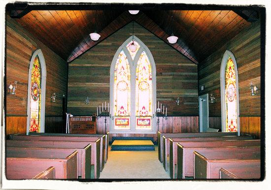 Cannonsburgh  Village: Cannonsburgh wedding chapel 2