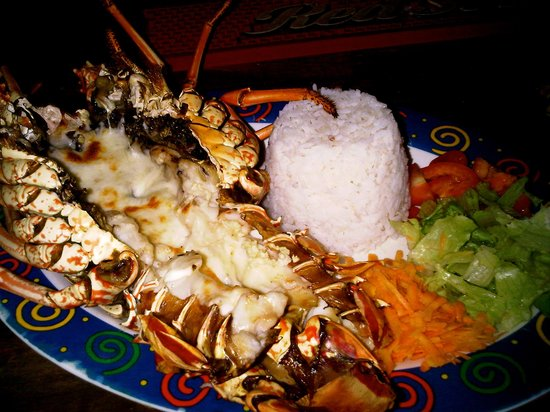 Hotel Jamaican Colors: Grilled Lobster @Jamaican Colors