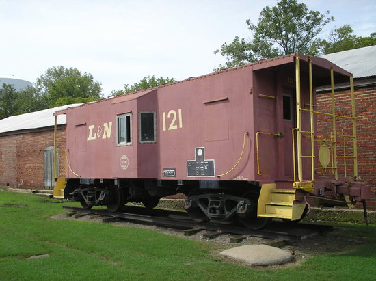 Cannonsburgh  Village : Cannonsburgh caboose