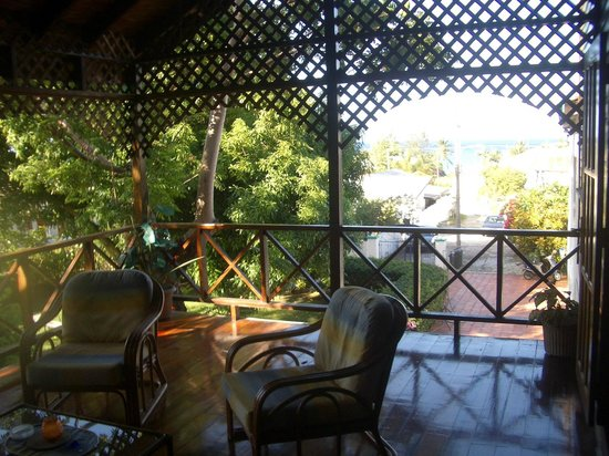 Villa Marie Guesthouse:                   apartment's private terrace