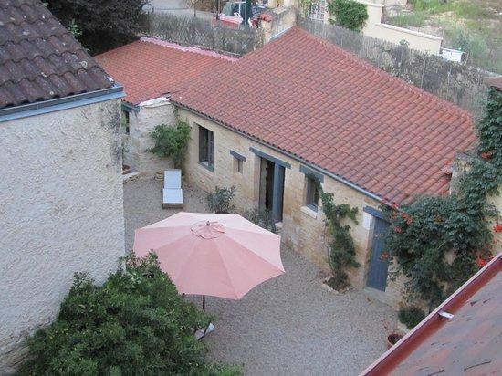 Sarlat Cote Jardin:                   Vista desde la habitación