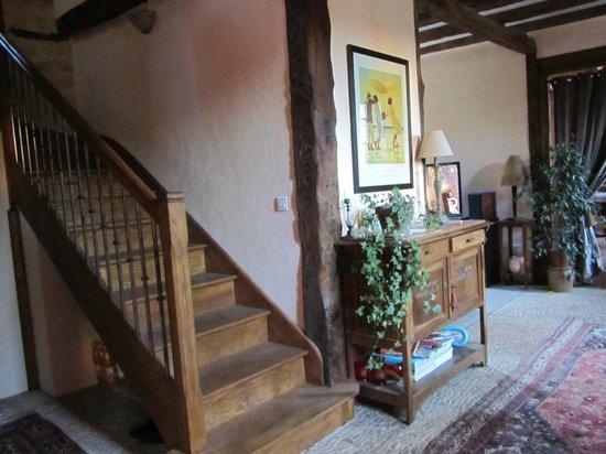 Sarlat Cote Jardin:                   la escalera