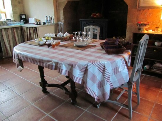 Sarlat Cote Jardin:                   La cocina
