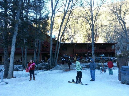 Sipapu Ski & Summer Resort:                   The Lodge