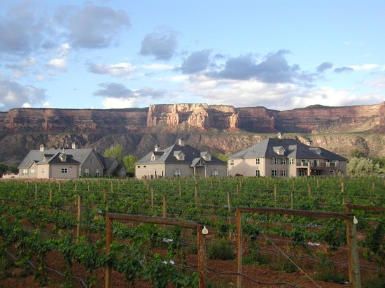 Grand Junction, CO: Property with Colorado National Monument in background